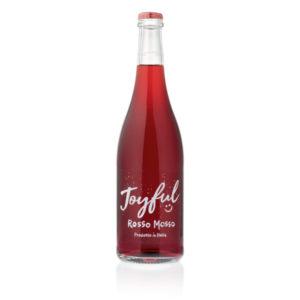 Vino Joyful Rosso - Vino Rosso Mosso - Vino da Aperitivo - Vino da Tavola